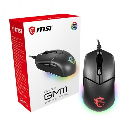 Souris Gaming WHITE SHARK GM-1605 Hercules/4800 DPI Noir