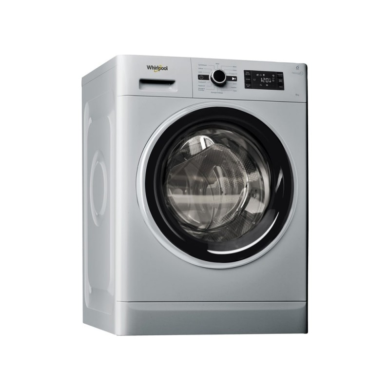 Machine à laver automatique Whirlpool 8 Kg 1200tr/mn - Silver - FWG81284SBS NA