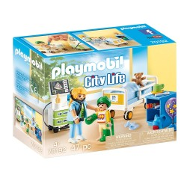 Chambre d'hôpital pour Enfant Playmobil